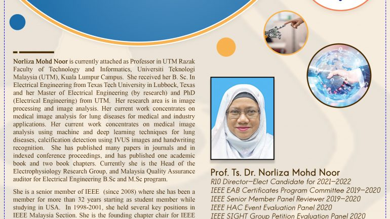 My IEEE Journey by Prof. Norliza