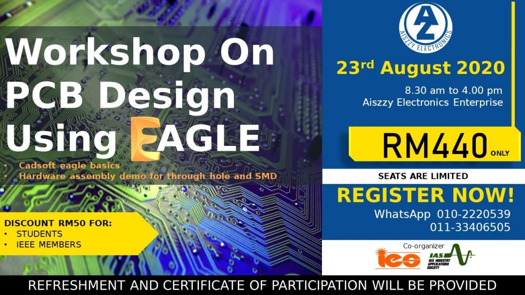 PCB Design Workshop using Eagle