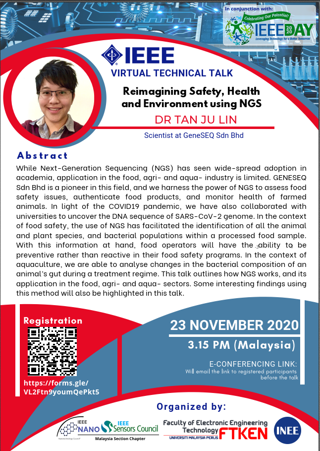 Technical Talk : Reimagining Safety, Health & Environment using NGS