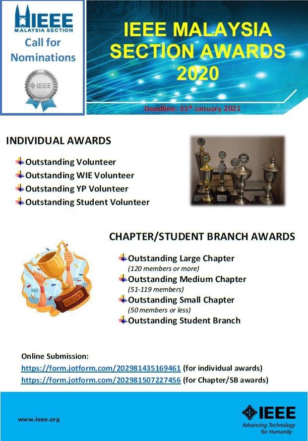 IEEE Malaysia Awards 2020