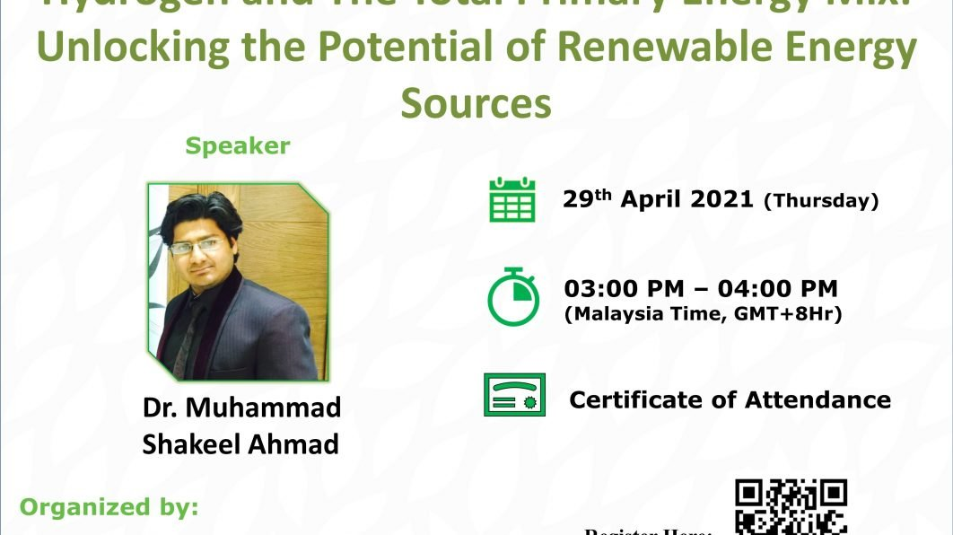 Hydrogen and The Total Primary Energy Mix: Unlocking the Potential of Renewable Energy Sources