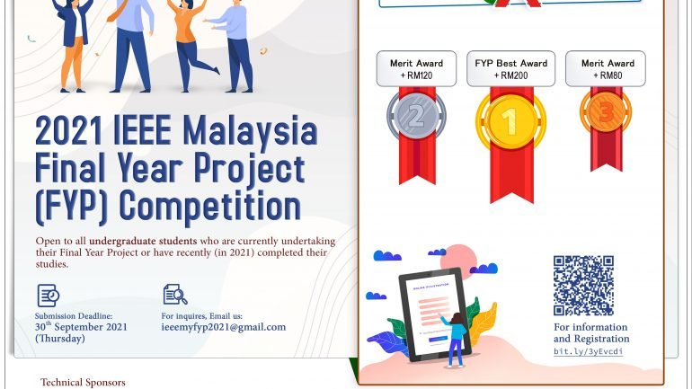 2021 IEEE Malaysia Final Year Project (FYP) Competition
