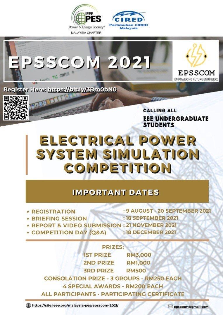 EPSSCOM 2021 poster